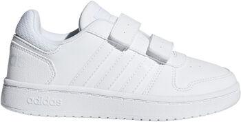 adidas Hoops 2.0 schoenen Jongens Wit
