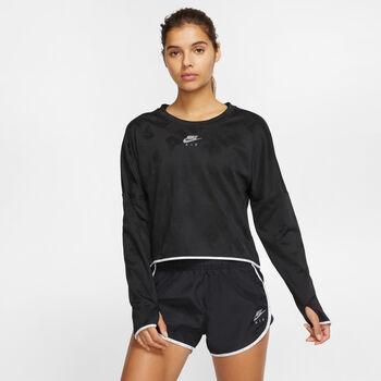 Nike Air Crew longsleeve Dames Zwart