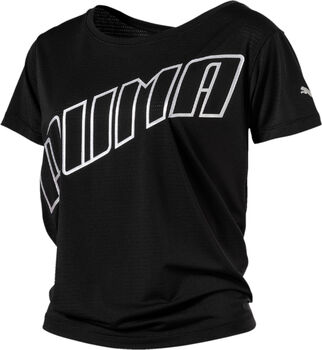 Puma Ahead Slogan shirt Dames Zwart