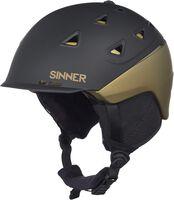 Sinner Stoneham helm Heren Zwart