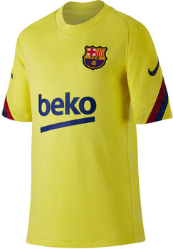 Nike FC Barcelona Breathe Strike kids shirt Geel