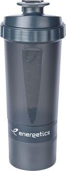 ENERGETICS Shaker fles 600ml Grijs