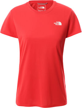 The North Face Reaxion Amp Crew t-shirt Dames Rood
