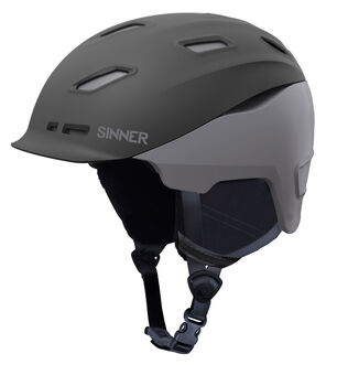 Sinner Moonstone skihelm Heren Zwart
