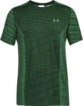 Under Armour Threadborne Knit shirt Heren Groen