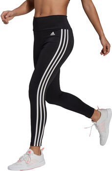 adidas Designed To Move High-Rise 3-Stripes 7/8 Sportlegging Dames Zwart