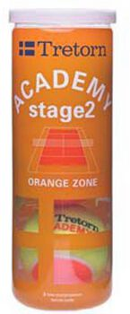 Tretorn Academy Orange 3-tube tennisballen Oranje