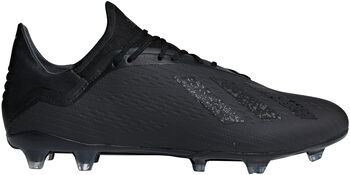 ADIDAS X 18.2 FG voetbalschoenen Zwart