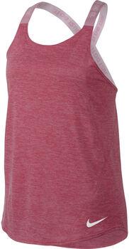 Nike Dry top Meisjes Rood