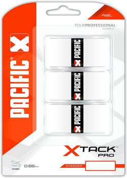 Pacific PC X Tack Pro tennis overgrip Wit