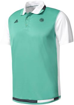 Tretorn Roland Garros polo Heren Groen