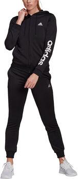 adidas Essentials Logo French Terry Trainingspak Dames Zwart