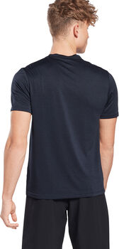 Reebok Work Melange t-shirt Heren Blauw