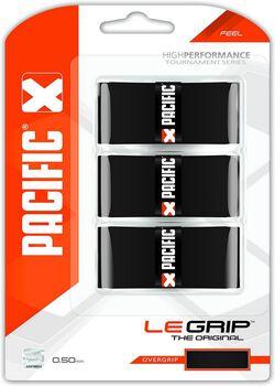 Pacific PC Le Grip tennis overgrip Zwart