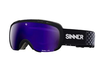 Sinner Marble skibril Zwart