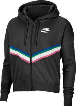Nike Sportswear Fleece jack Dames Zwart