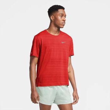 Nike Dri-FIT Miler shirt Heren Rood