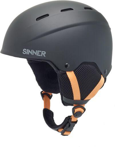 Sinner - Poley jr helm - Dames - Accessoires - Zwart - 52