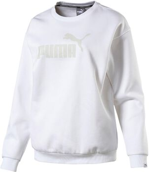 Puma Essential No. 1 Crew sweater Dames Wit