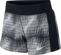 Nike Court Flex Pure short Dames Zwart