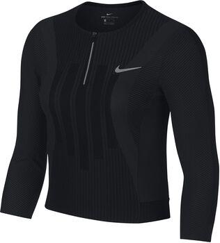 Nike Court Zonal Cooling Slam shirt Dames Zwart