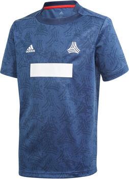 adidas All Over Print shirt Blauw