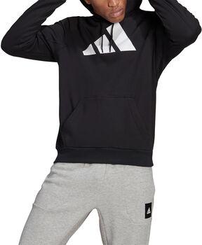 adidas Sportswear Badge of Sport Hoodie Heren Zwart