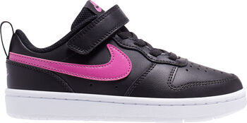 Nike Court Borough Low 2 sneakers Jongens Zwart