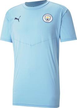 Puma Manchester City FC Warming-Up t-shirt Heren Blauw
