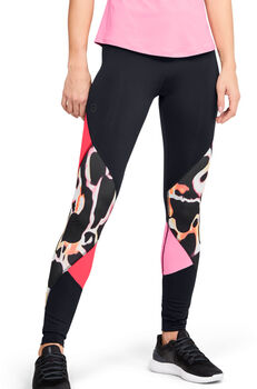 Under Armour Rush Wild legging Dames Zwart