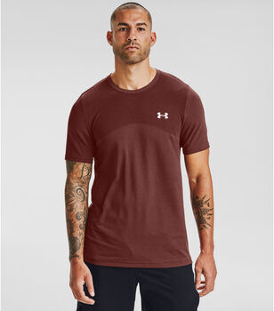 Under Armour UA Seamless shirt Heren Rood