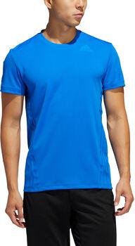 adidas AEROREADY 3-Stripes shirt Heren Blauw