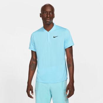 Nike Court Blade polo Heren Blauw