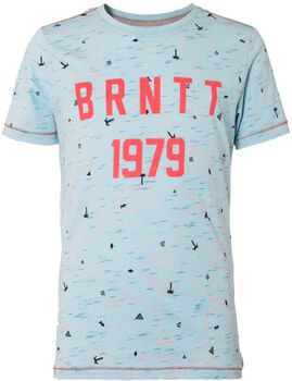 Brunotti Angus jr shirt Jongens Blauw