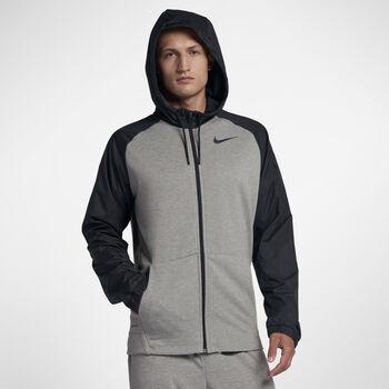 Nike Dry hoodie Heren Grijs