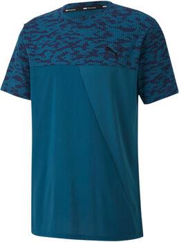Puma AOP Vent SS shirt Heren Blauw