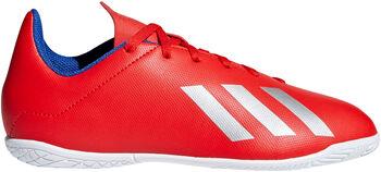 ADIDAS X 18.4 zaalvoetbalschoenen Rood