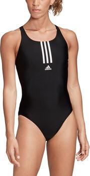 adidas SH3.RO Mid 3-Stripes badpak Dames Zwart