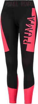Puma Logo Crop tight Dames Zwart