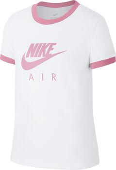 Nike Sportswear Air Logo Ringer shirt Meisjes Wit