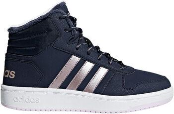 ADIDAS Hoops Mid 2.0 K sneakers Blauw