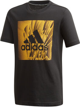 ADIDAS Must Haves Box shirt Jongens Zwart