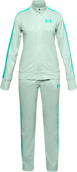 Under Armour EM Knit kids trainingspak  Meisjes Blauw