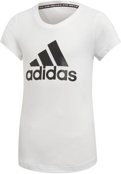 ADIDAS Badge Of Sport shirt Meisjes Wit