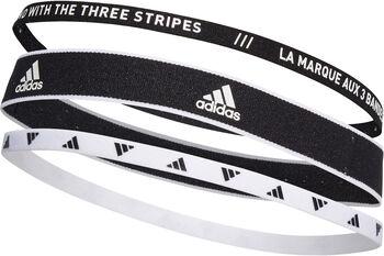 adidas Training Hoofdbanden 3-Pack Zwart