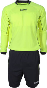 Hummel Classic Referee Set Ls Heren Geel