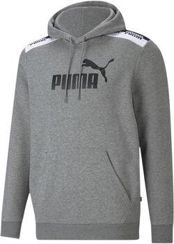 Puma Amplified hoodie Heren Grijs