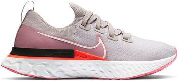 Nike React Pro Flyknit hardloopschoenen Dames Grijs