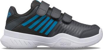 K-Swiss Court Express Strap Omni kids tennisschoenen Wit