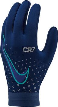 Nike CR7 Hyperwarm handschoenen Blauw